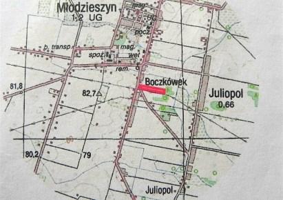 działka na sprzedaż - Młodzieszyn, Juliopol
